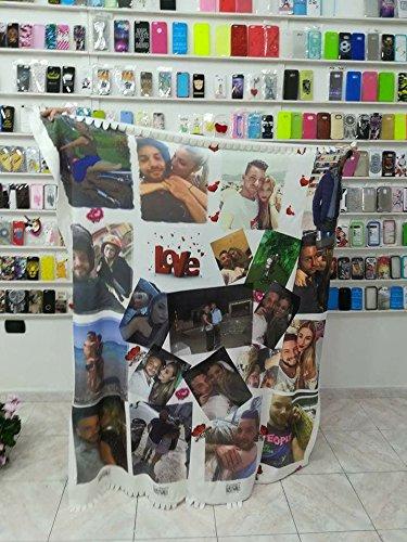 Pile Con Foto Personalizzata.Coperta Personalizzata In Pile Plaid 65x85 Con Foto Scritte