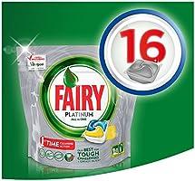 Fairy Platinum - Pastillas para lavavajillas, paquete Limón 16 ...