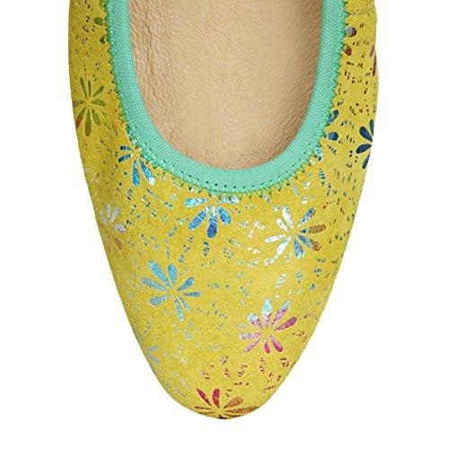 Morena MorenaFlosa Pointed Toe - Ballet mujer amarillo