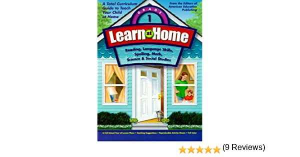 Learn at Home: Grade 1: American Education: 9781561895090: Amazon ...