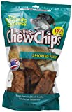 The Rawhide Express Assorted Flavors Strips/Chips Dog Chew, 1-Pound