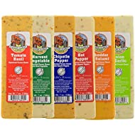 Wisconsin Cheese Blocks 6 Pack (New Flavors) If you want all one flavor let us know.