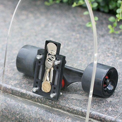 Stairs 9 x 33 FREEDARE Skateboard Grip Tape Sheet Longboard Grip Tape Waterproof Bubble Free for Gun Scooter