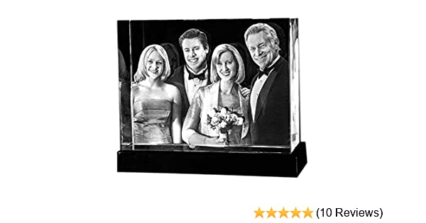 Amazon 3d Crystal Glass Picture Custom From Photo Tower