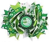 St. Patrick's Day Hair Bow ''Lovely Leprechaun'' (Wee Bit Irish)