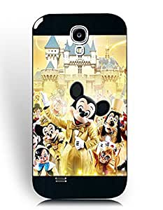 Samsung Galaxy S4 (I9500) Fundas, Exotic Durable Fundas, Popular All Disney Characters Picture Fundas Cover for Team/Sport