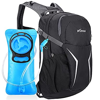 Kuyou Insulated Hydration Backpack,Large Capacity Hydration Pack With 2L Leakproof Hydration Bladder Lightweight Water… 1