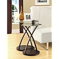 MYCO Furniture Modern Nesting Style End Tables