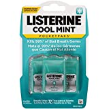 Listerine Pocketpaks, Cool Mint, 72 Count - 2 Packs