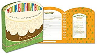 Your Birthday Book: A Keepsake Journal (0307342301) | Amazon Products