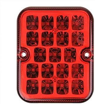 Nebelschlussleuchte Led E3 Zertifiziert 10x8x2 4cm 9 Led S Auto