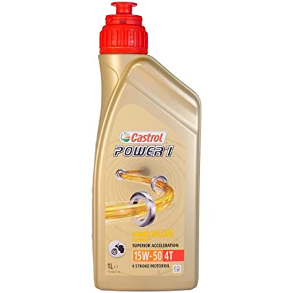 Aceite Castrol Power 1 4t 15w50 1l.