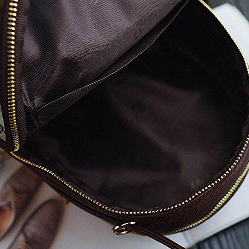 Delle Zll Personalizzata Tracolla Donne Selvagge Stampa Shopping Singola Borsa Marrone Fqnt5PFx