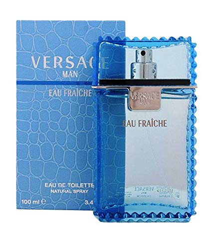 V ersace Man Eau Fraiche by Gianni V ersace Edt Spray 3.4 OZ. / 100 ML. by V ersace