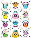 Colorful Owl Motivators Motivational Stickers