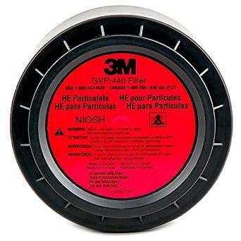3M Filtro HEPA para sistema de respirador 8 / EA de la serie GVP y ...