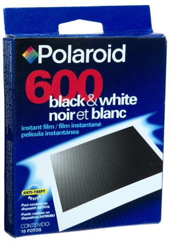 Polaroid 600 Black and White Single Pack Film