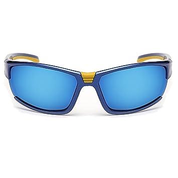 Gafas De Sol Deportivas Polarizadas 99.9% De Rayos Ultravioletas Aislados Visión De Alta Definición Marco