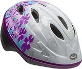 Bell Bellino Toddler Bike Helmet, White/Purple/Blue Leilana