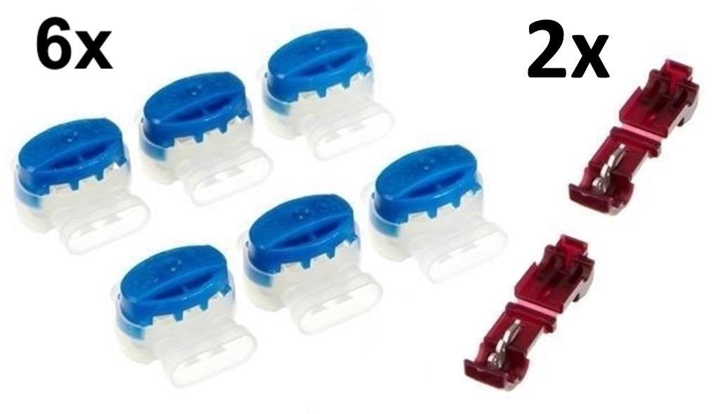 genisys 6 Conector de cables + 2 bornes para Husqvarna Automower 3 ...