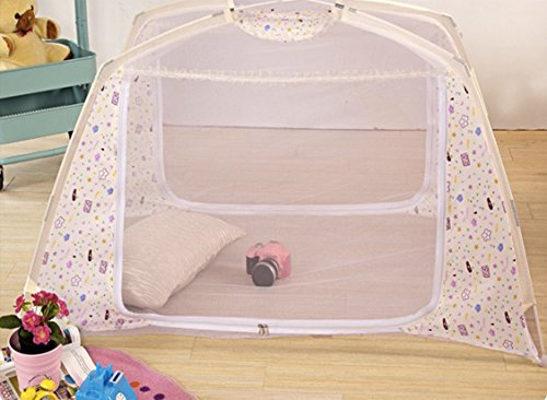 Pop up Children Folding Sleeping Bed Playpen Baby Playard...