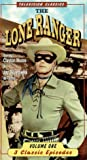Lone Ranger, Vol.1 - 3 Classic Episodes (Masked Rider / Old Joes Sister / Cannonball McKay) [VHS]
