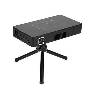 Mini proyector 4K, Mini proyector portátil DLP 4K Pocket LED ...