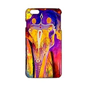 Wish-Store Colorful elephant 3D Phone Case for iPhone 6 plus