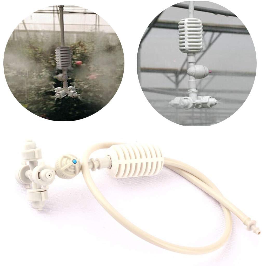 Garden Sprayer, LtrottedJ Atomizer Greenhouse Cooling Leakproof Atomization Nozzle Garden Sprinklers
