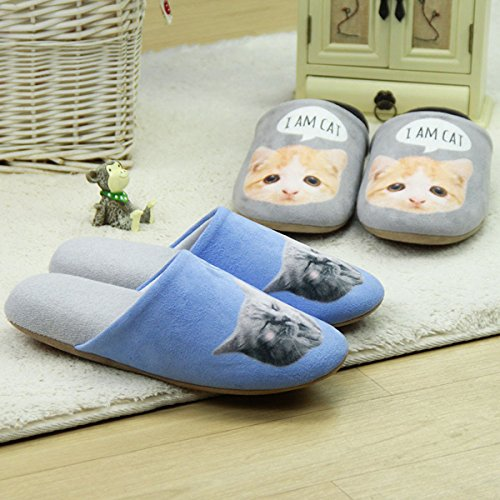 Oyangs Womens Slippers Slippers For Women Womens Bedroom Slippers Ladies Cute Slippers Cat Slippers Cheap Slippers,Indoor Slippers Cartoon Toe Dog Slippers Comfy Slippers S160 Us7-8