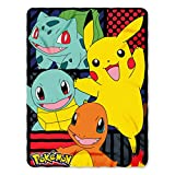 The Northwest Company Pokémon''First Partners'' Fleece Throw Blanket, 45 x 60-inches