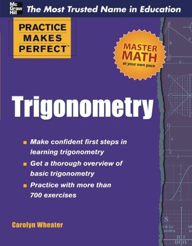 Trigonometry (Practice Makes Perfect Series)