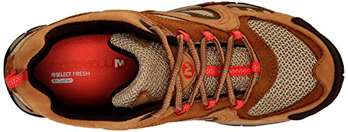 Merrell Womens Azura Hiking Shoe Tan / Coral