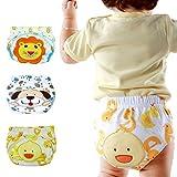 Baby Pants Children's Training Pants Leak Proof Underpants Diaper Pants Underwear 3 Pack B Size 2-3T