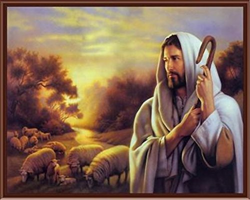 (CaptainCrafts New Paint by Number Kits - Christian, The Son Of God Jesus, Jesus And People 16x20 inch - Diy Painting by Numbers for Adults Beginner Kids (Jesus 026, With)