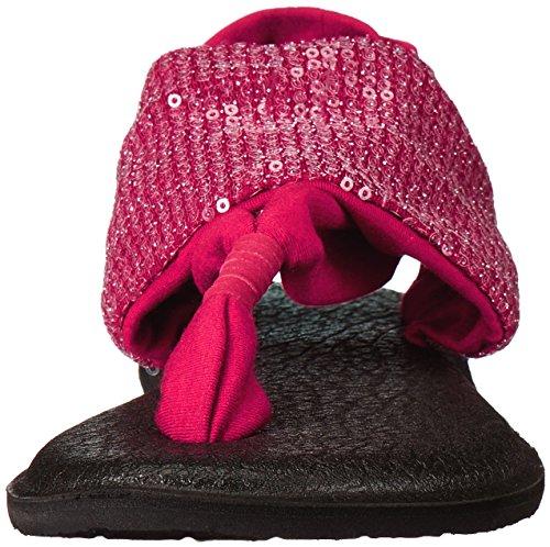 Sling Flip Scarlet Sequins Women Sanuk Yoga Flop qwgEFcPz