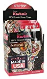 This Kashmir Organic Hemp Wrap display features (15) hemp wrap packs in a countertop display with 4 wraps per pack. Made in USA with 100% natural organic hemp fibers. Kashmir makes their wraps eco-friendly by using no harmful pesticides or chemical f...