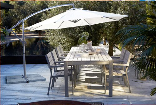 amazoncom ikea karlso hanging umbrella beige patio umbrellas garden outdoor - Ikea Patio Umbrella