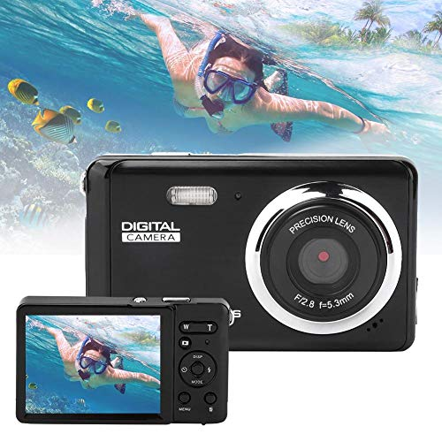 Bewinner Portable Digital Camera, 3.0 Screen 20MP 1080P 8.0 MP CMOS Sensor 4X Optical Zoom Panoramic Shooting Anti-Shake Self-Timer Camera, Sports Camera for Outdoor Travel/Home