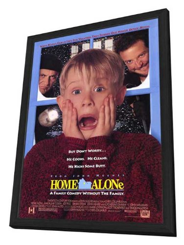 Home Alone - 27 x 40 Framed Movie Poster