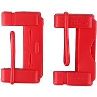 TiooDre Cubierta de Seguridad Hebilla de cinturón, 2pcs