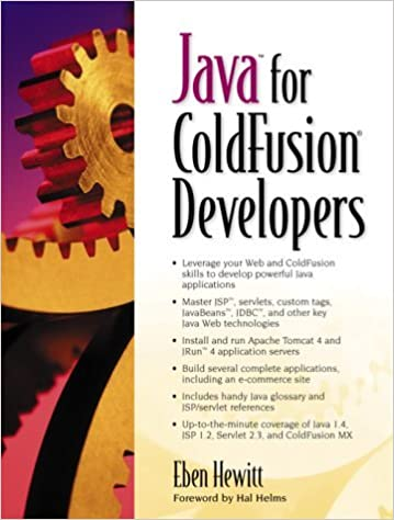 Book Java for ColdFusion Developers by Eben Hewitt (2003-01-07)