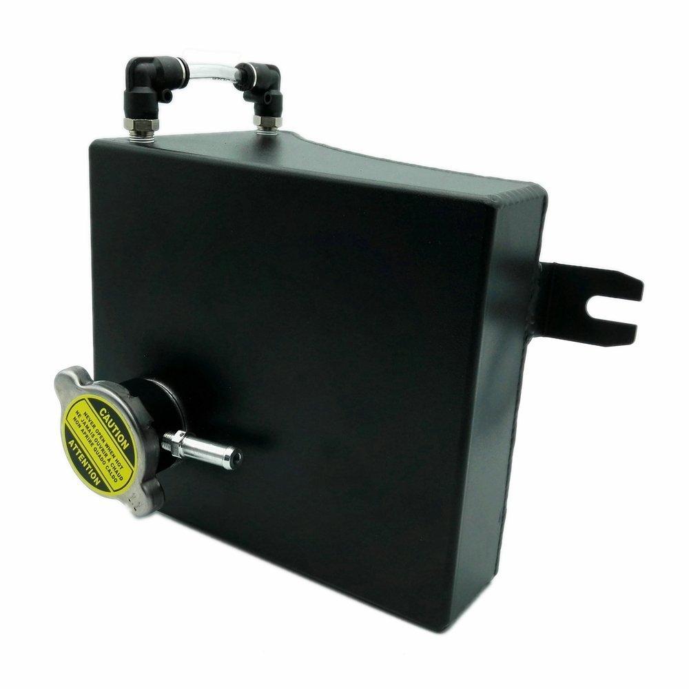 Heinmo aluminum Black refrigerante overflow serbatoio kit per 240SX S13/SR20DET KA24DE