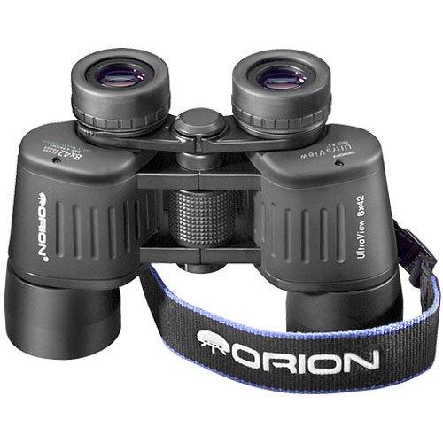 Orion 09350 UltraView 8×42 Wide-Angle Binoculars Black