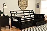 Product review for Phoenix Futon in Black with Storage Drawer