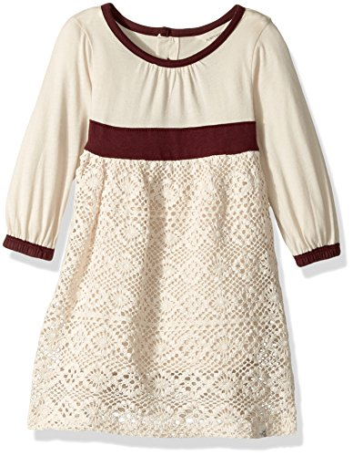 Burt's Bees Baby Baby Girls' Organic Long Sleeve Dress, Winter Wool, 24 Months