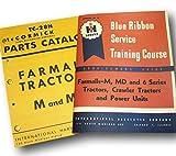 Farmall M Mv Tractor Service + Parts Manuals Shop Repair International Mccormick