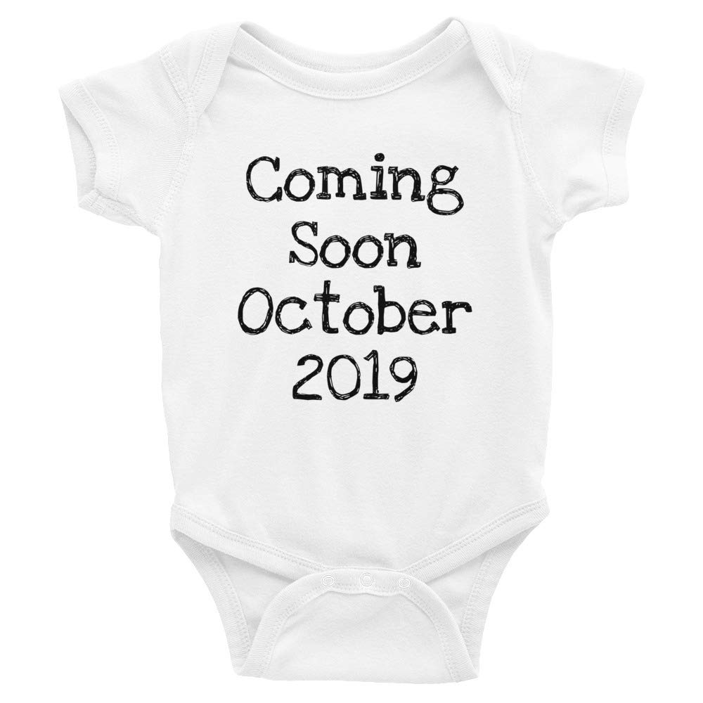 Coming Soon October 2019 Baby On The Way Infant Bodysuit