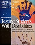 img - for Testing Students With Disabilities: Practical Strategies for Complying With District and State Requirements book / textbook / text book