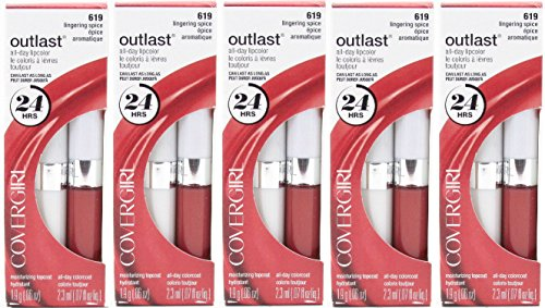 pack-of-5-covergirl-outlast-all-day-two-step-lipcolor-lingering-spice-619-013-ounce